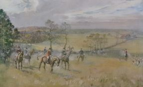 Lionel Edwards (1878-1966), Hunting Coun