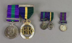 Elizabeth II General Service medal with