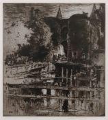Frank Brangwyn (1867-1956), Pont de Gard