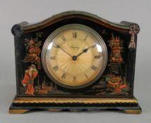 Asprey; a mantel timepiece, circa 1920's