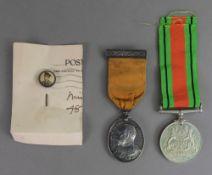 Edward VII Imperial Yeomanry Long Servic