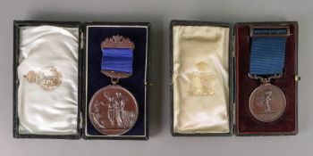 A bronze Universal Cookery & Food Exhibition 1927 medal,