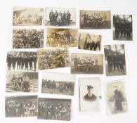 Postcards: WW1, naval interest, approximately 75 including a few photographs, the collection of W.V.