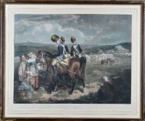 After Francis Wheatley, The Encampment at Brighton; and The Departure from Brighton,