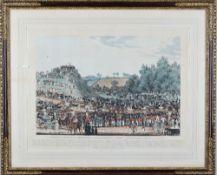 James Pollard (British, 1792-1867), The ceremony of the procession ad Montem,