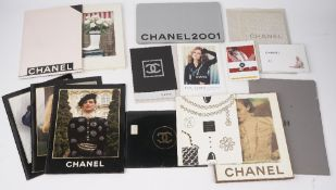 Chanel, a small group of vintage Chanel catalogues, 1987 - 2003, photo illustrated throughout,