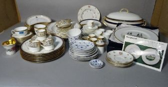 A Mintons part dinner service, early 20th century, retailed by T.