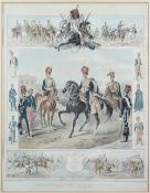 A group of eight engravings and lithographs, including Edward Hull,