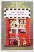 Zero Mostel 'The Producers', by Mel Brooks starring Gene Wilder. (MGM 1968) 104cm x 68.5cm.