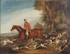 Follower of Richard Barrett Davis, Charles Davis, Huntsman to the Royal Buckhounds on Columbine,