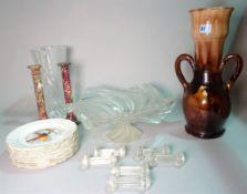 Ceramics and glass,