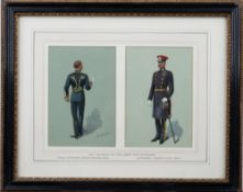 Richard Simkin (British 1850-1926), 10th Prince of Wales's Own Hussars, Field Officer, mess dress,