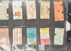 Railway tickets, 1940s - 1950s, an album of approximately 230 railway tickets, Great Britain,