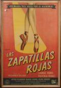 'The Red Shoes', 'Las Zapatillas Rojas' (1948) Eagle Lion Films, J.