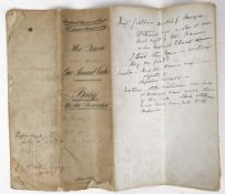 Brief for the Prosecution, The Old Bailey, London, Queen v George Samuel Cooke, 1893, an 8pp.