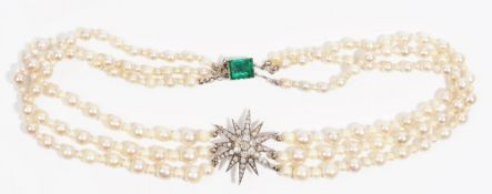 An Edwardian diamond-set star brooch converted to a necklace Designed as a twelve rayed star set