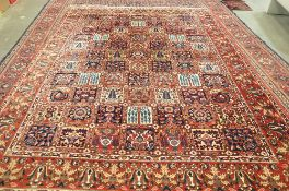 A Bakhtiari carpet, Persian,