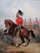 Henry Martens (British, 1828-1860), The 2nd (Queen's Dragoon Guards), watercolour,