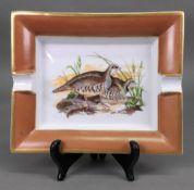A Hermes grouse ashtray, 19 x 15.5cm.