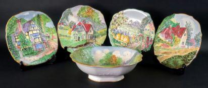 A large Grimwades Ye Olde Mill bowl, 26c