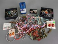 A collection of Vintage costume jeweller