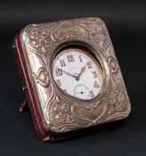 A Goliath 8 day watch, in plated case, by Army & Navy C.S.L.
