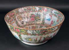 A Chinese 'famille rose' bowl, late 19th century,