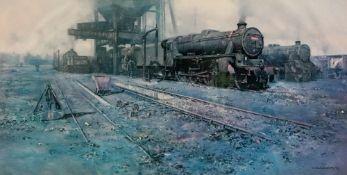 David Shepherd (British, b. 1931), Black