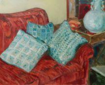 Judy Strafford (1932-2018), Blue Vase, s