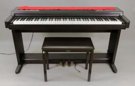 A Yamaha Clavinova CLP-560 Advanced Wave Memory SWM stereo piano, in black case,