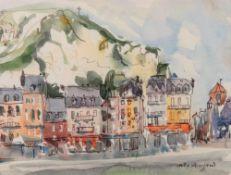 Judy Strafford (1932-2018), Le Treport,