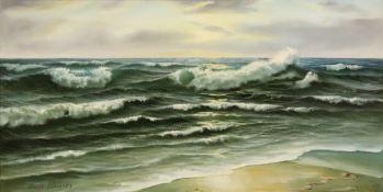 Erich Schurer (1910-1998), Seascape, sig
