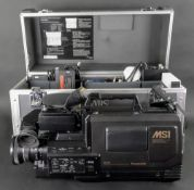 A Panasonic S-VHS movie camera and acces