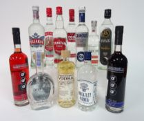 Box 16 - Vodka Gradus Vodka Archie Rose Vodka Kalki moon Vodka Triple Eight blueberry Vodka