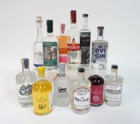 Box 23 - Gin Clouded leopard dry Gin Sipsmith dry Gin Vertigo Gin Als Gin Pride of Wembly Gin
