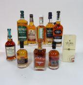 Box 70 - Whisky (10 bottles) Slyrs single Malt Whisky Method and madness Irish Whisky J.