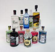 Box 35 - Gin Liquormacher Pink Gin Liquormachor Gin M&H Levantine Gin Harrogate Tipple Gooseberry