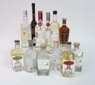 Box 20 - Mixed Spirits Pater Romanian fruit spirit Williams eau-de-vit Altes Schwarzwalder