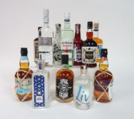 Box 31 - Rum Silk Road Spiced Rum Matugga Navy Strength White Rum Old Hopking White Rum The Olde