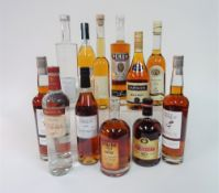 Box 5 - Mixed Spirits Ognjena apple Brandy Perun plum spirit Bardinet XO Geest Van Dassemus