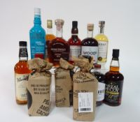 Box 28 - Rum The Real McCoy 12 Yr Rum George Bowman Caribbean Dark Rum Bacardi Anejo Cuatro
