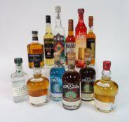Box 13 - Mixed Spirits Senorio mezcal Lunazul Tequila Corazon blanco Tequila Corazon extra