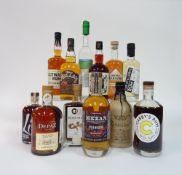 Box 63 - Rum Cutwater Aged Rum Red Leg Spiced Rum Clairin Sajous 2018 Rum Liv Black Spiced