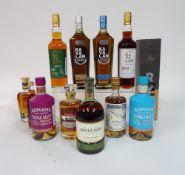 Box 68 - Whisky Slyrs rye Whisky Kavalan Taiwan Malt Whisky Kavalan Taiwan Bourbon Whisky