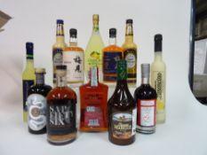 Box 52 - Mixed Spirits Limoncino di Sorento Crema di Limoncino Limoncino Meijian Liqueur Meijian