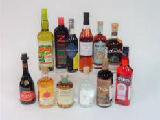 Box 1 - Mixed Spirits Tequila Corazon extra aged Opland Aquavit 2015 Bas-Armagnac Tariquet