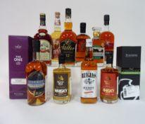 Box 64 - Whisky The One Blended Whisky Stauning Malt Whisky Omar Single Malt Whisky Timah Blended
