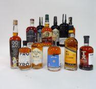 Box 65 - Whisky Kyro Malt Rye Whisky Golani Black 5yr Whisky Teeling Irish Whiskey Buffalo Trace