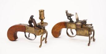 A Dunhill 'Tinderbox' pistol lighter, Patent no '592139',