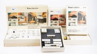 A Braun Lectron electronic experiment system, a basic system and a supplementary system 2,